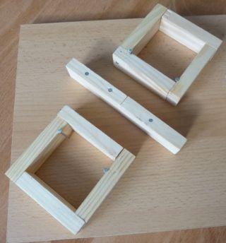 Fummelbrett Rahmen